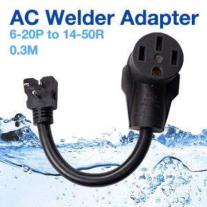 AC Welder Adapter 6-20P to 14-50R