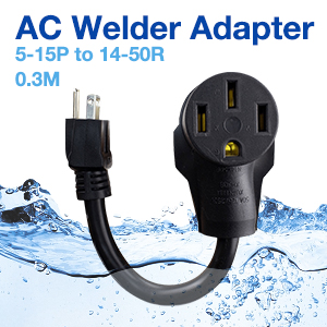AC Welder Adapter 5-15P to 14-50R