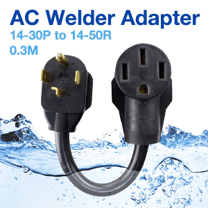 AC Welder Adapter 14-30P to 14-50R