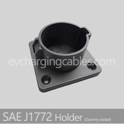 sae j1772 holder Dummy socket for ev charging station use